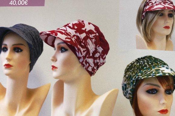 collection printemps, été de bonnets, turbans, franges tempo'hair